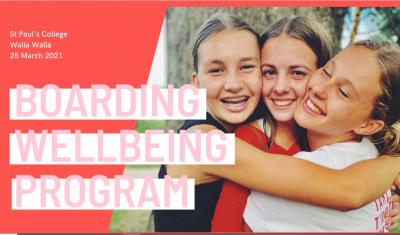 Boarding Well-Being Program